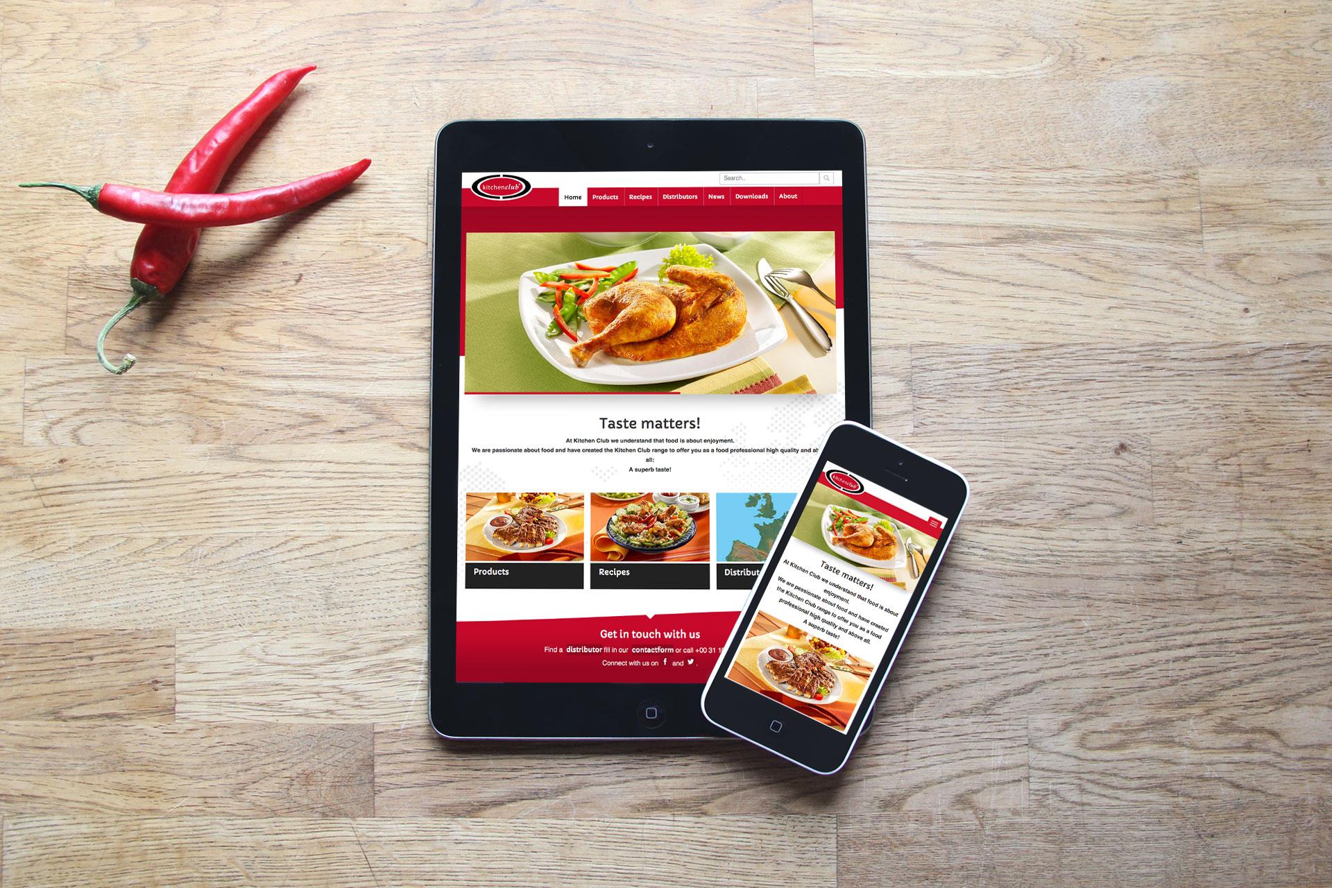 Case Kitchenclub Drupal responsive tablet