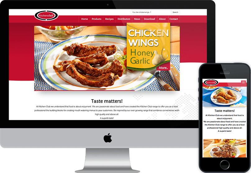 Case Kitchenclub Drupal responsive