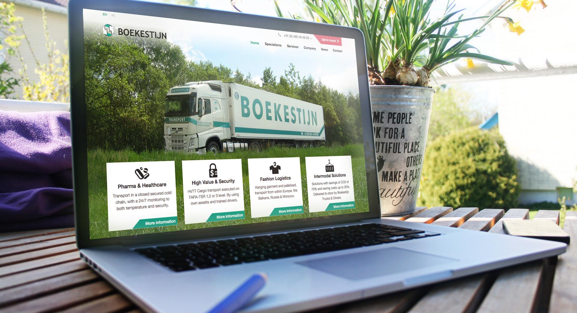 Boekestijn Transport portfolio van Compubase