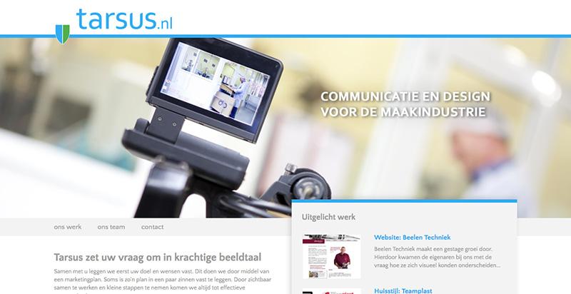 Drupal website voor partner Tarsus