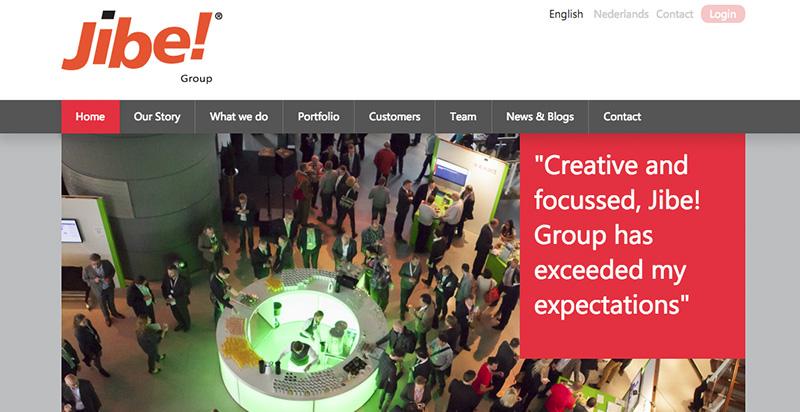 Jibe Group website in Drupal