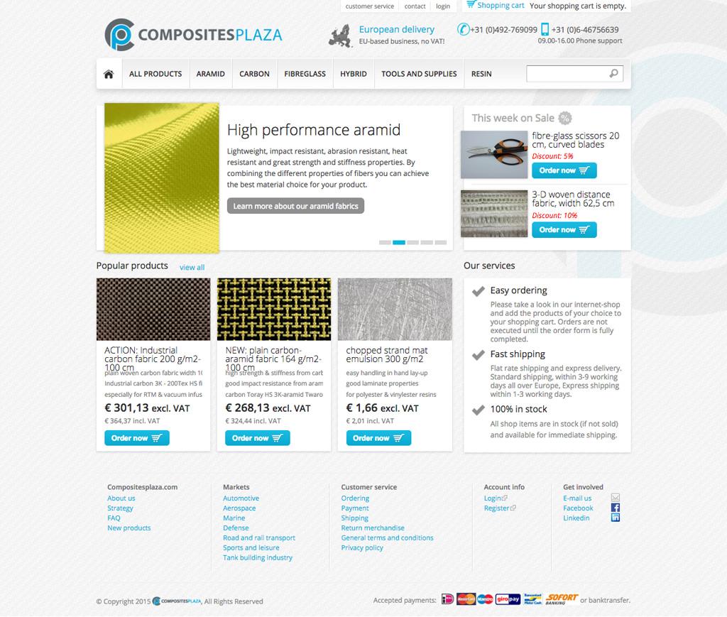Composites design Drupal Commerce Compubase