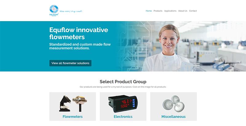 Equflow.com door Compubase in Drupal