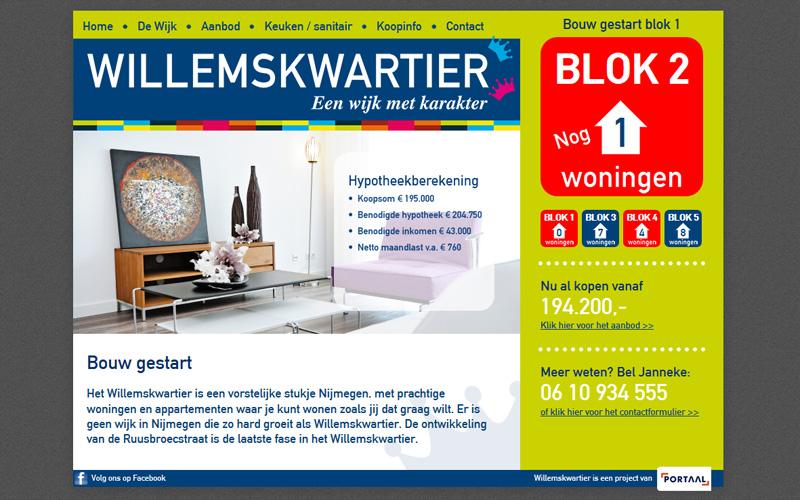 Het Willemskwartier in Drupal & EstateBase