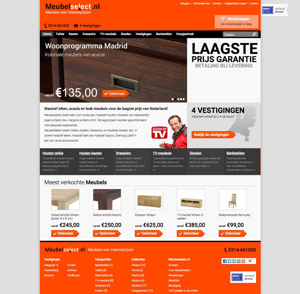 Meubelselect Drupal Commerce door Compubase