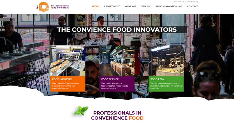 Screenshot vantol.nl drupal door compubase