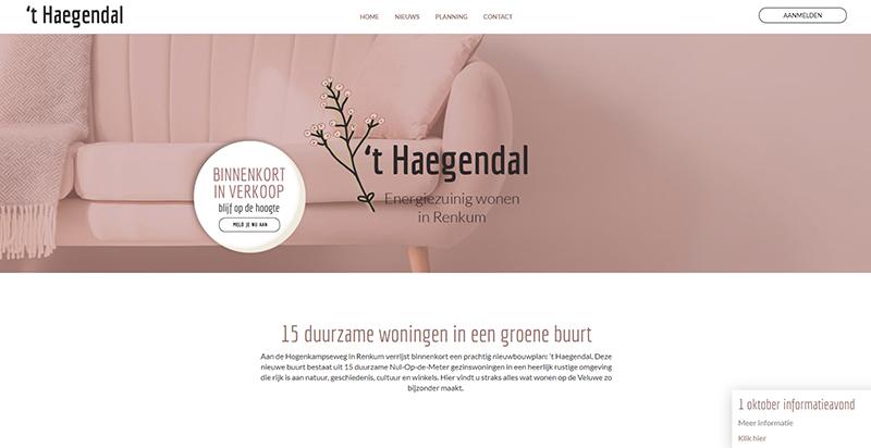 Screenshot wonen in Heagendal Drupal Compubase
