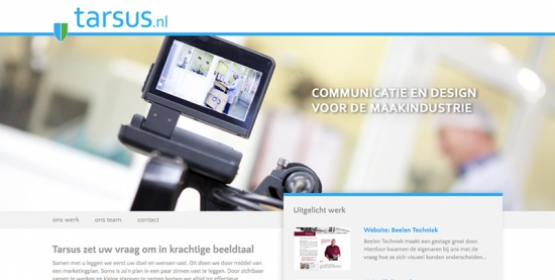 Drupal website voor partner Tarsus