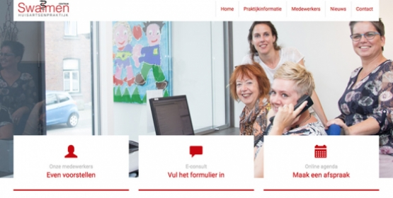 Huisartsen Swalmen Drupal website
