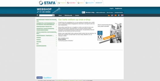 Screenshot eshop Stafa drupal door compubase