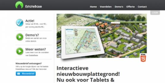Estatebase 2.0 de interactieve plattegrond