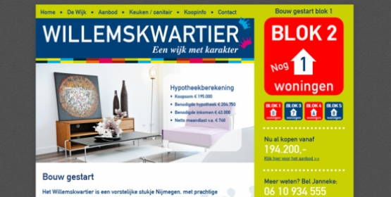 Het Willemskwartier in Drupal & EstateBase