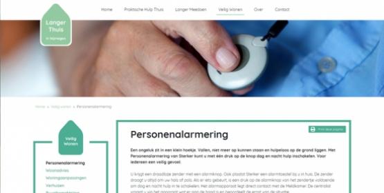 Screenshot langerthuisnijmegen.nl door Compubase