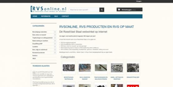 Screenshot RVSonline Drupal Compubase