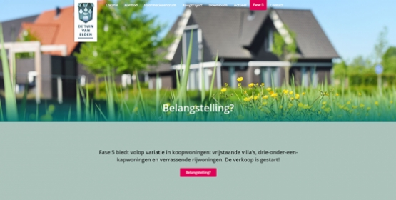 detuinvanelden.nl nieuwe Responsive website Compubase
