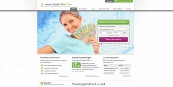 Screenshot vreemd geld direct Drupal Compubase