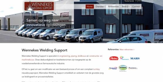 Website weldingsupport.nl gebouwd door Compubase