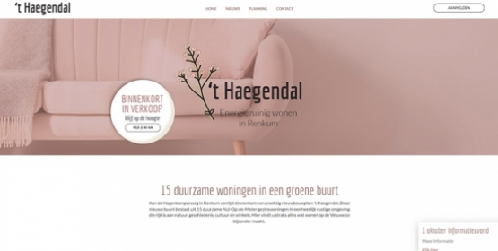 Screenshot wonen in Heagendal Drupal Compubase